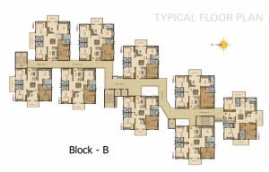 Capitol Heights Floor Plan B Block